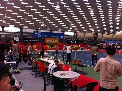 brand new 7c9c3 42ce3 MTSテニスアリーナ三鷹で行われたイベント「HEAT JAPAN」に行ってきました!